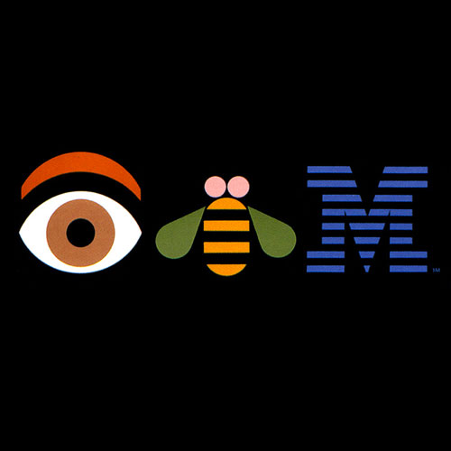 The graphic design of Paul Rand